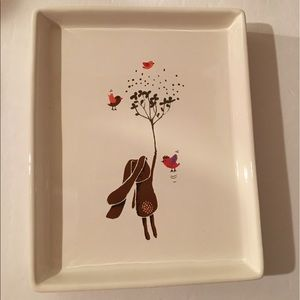 Happy Little Spring plate dish